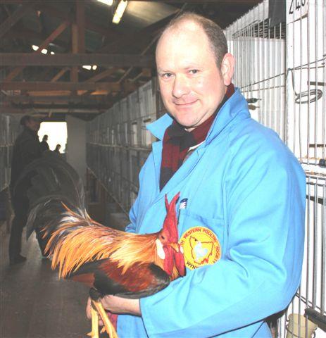 Jerrod Oliver And his Pullet Breeder Cockerel